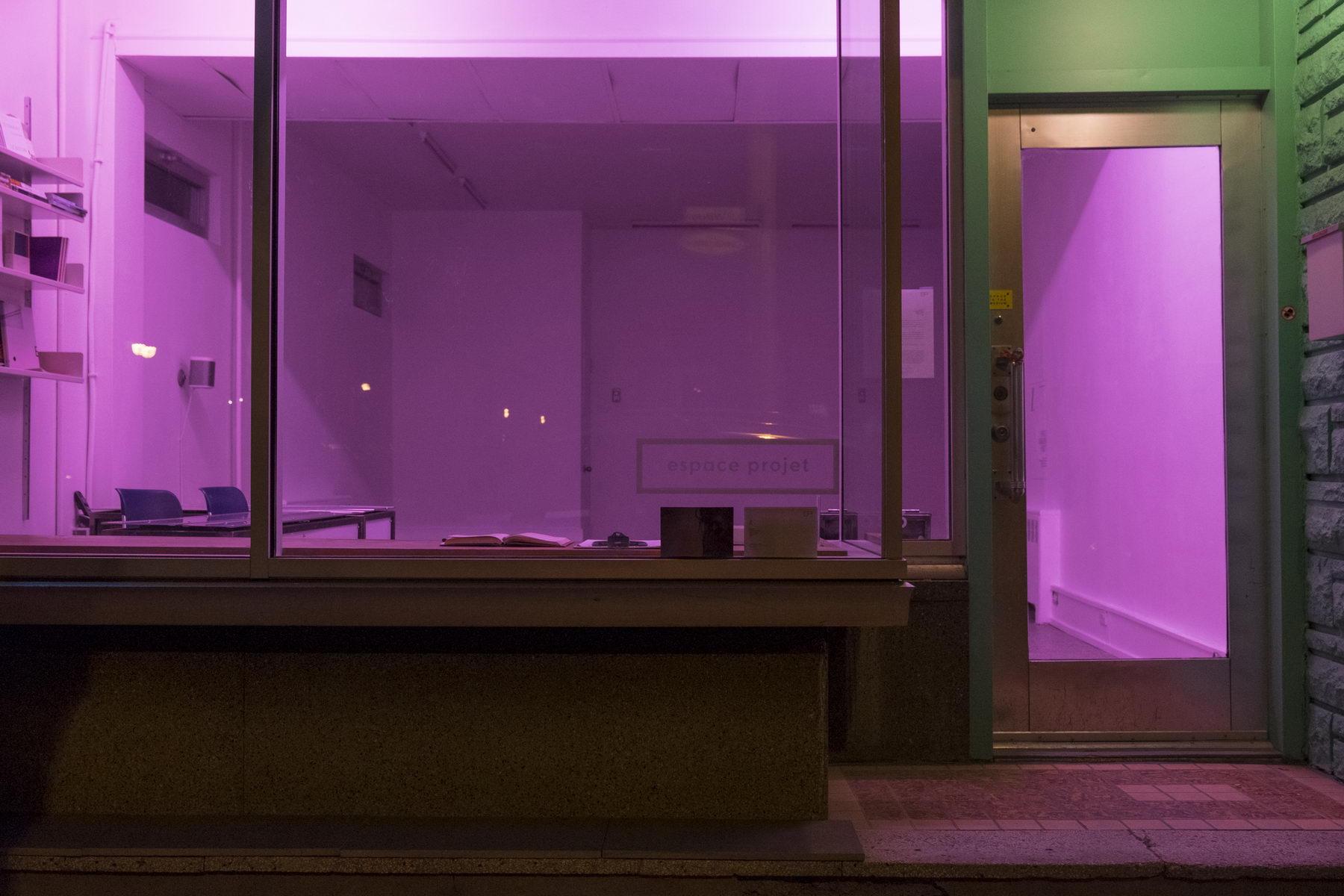 Galerie Espace-Projet, rue Villeray