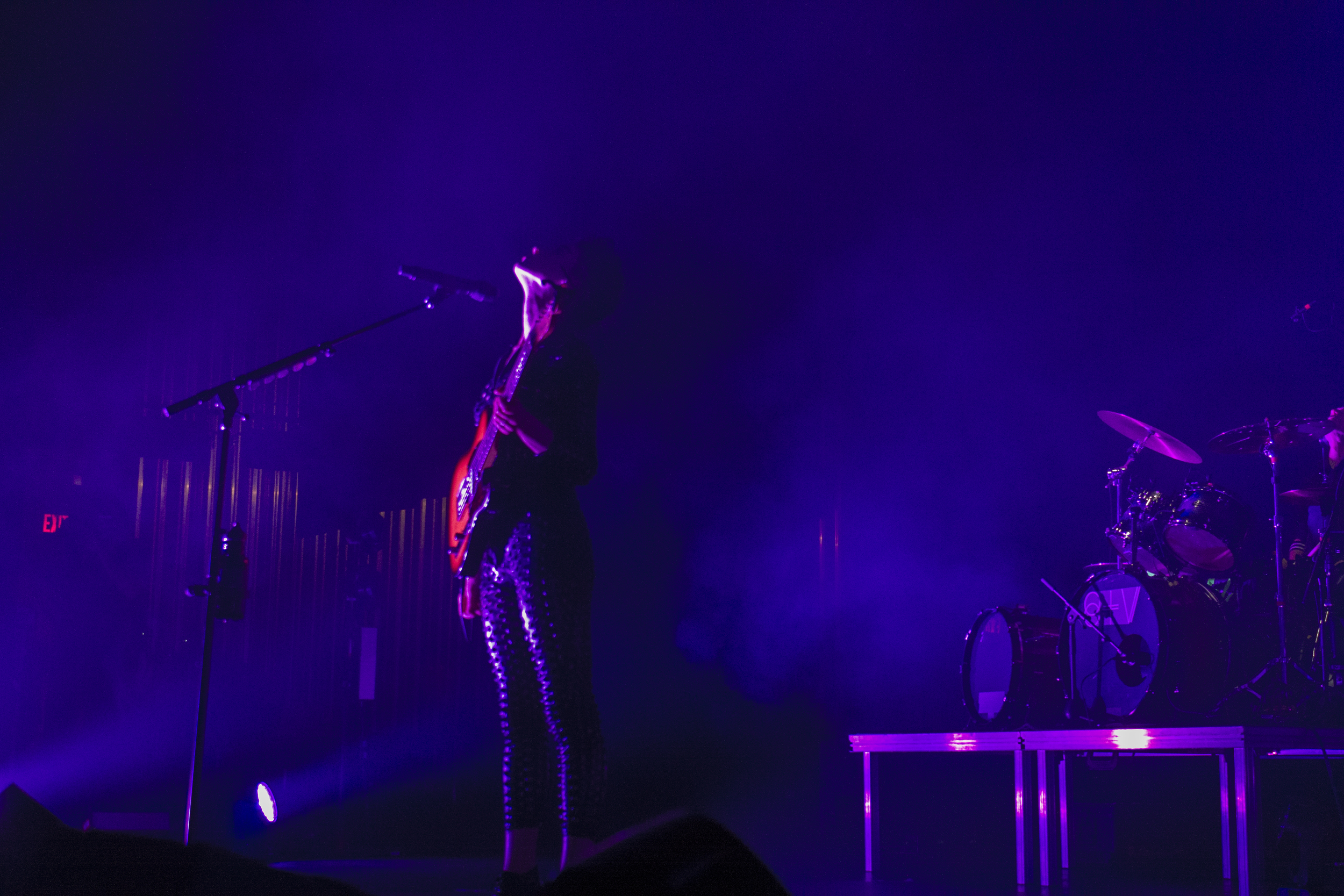 St. Vincent, Tennessee Theatre (2015), photograph by Ellen Hyrka