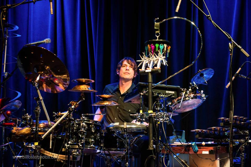 Glenn Kotche, Big Ears 2014, photograph by Bill Foster