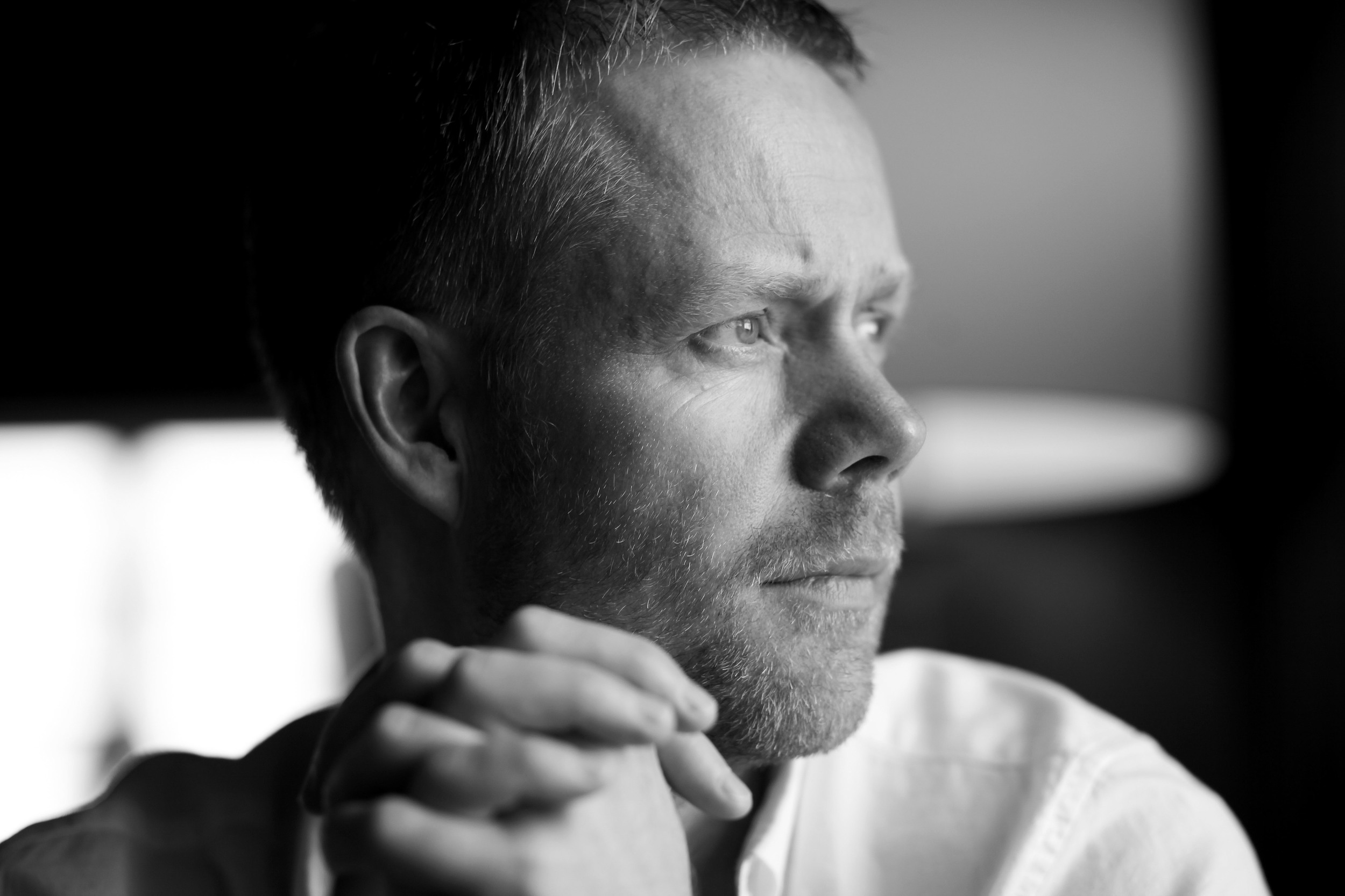 Max Richter, photograph by Yulia Mahr
