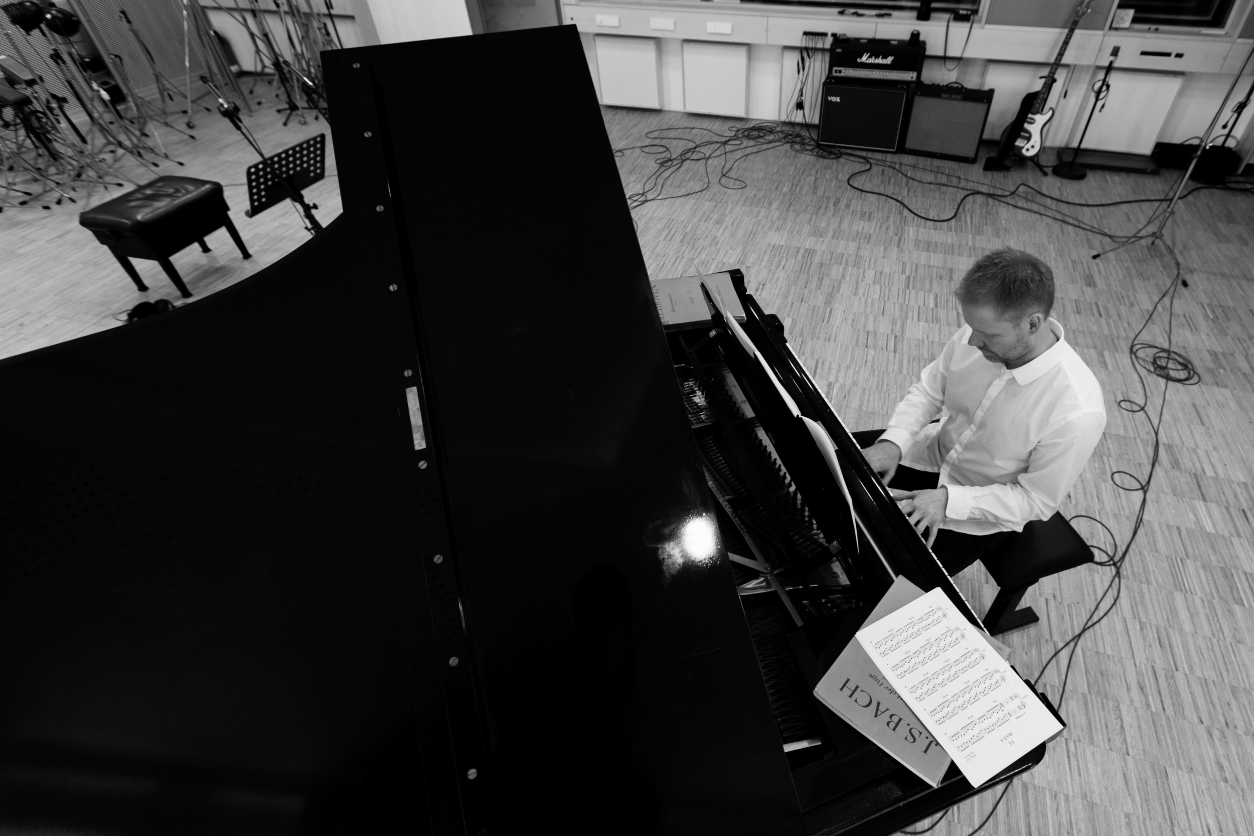 Max Richter, photograph by Wolfgang Borrs