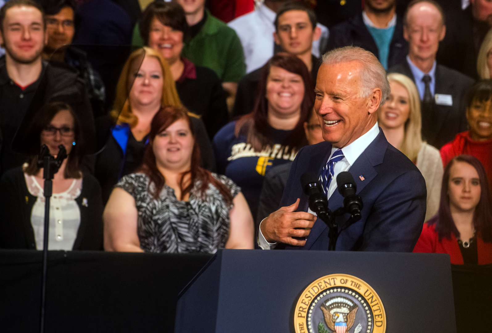 Vice President Biden at the PSTCC campus in Knoxville, TN, photograph by Bill Foster