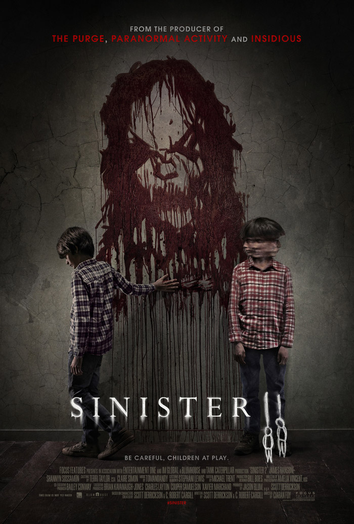 "Official movie poster for ""Sinister 2,"" courtesy of Alliance Films"