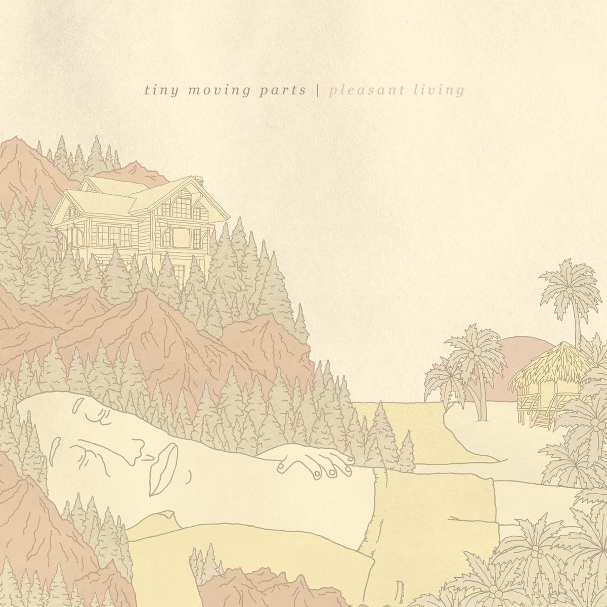 """Pleasant Living"" album cover courtesy of Triple Crown Records"