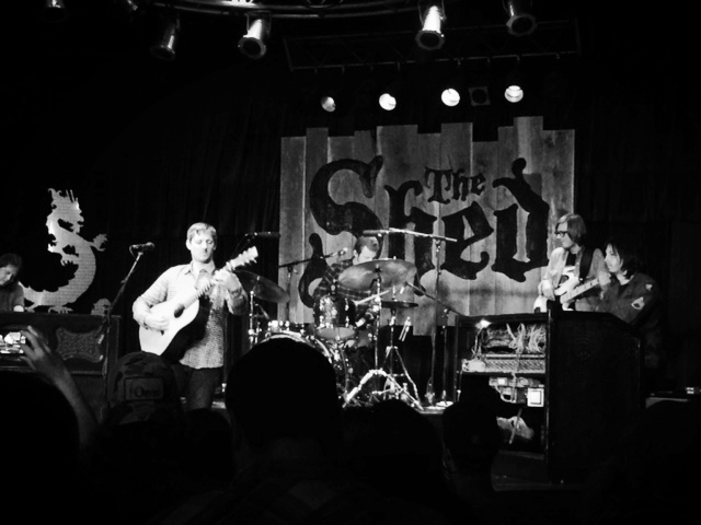 Sturgill Simpson performing at The Shed in East Tennessee, photograph by Adam King