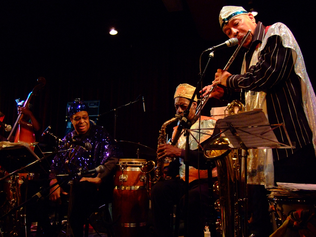 The Sun Ra Arkestra (2008), photograph by Tobias Akerboom