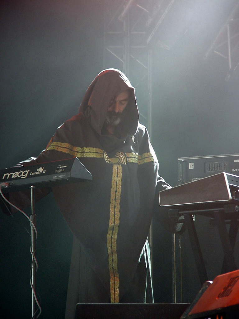 Greg Anderson of Sunn O))), photograph by Antti T. Nissinen