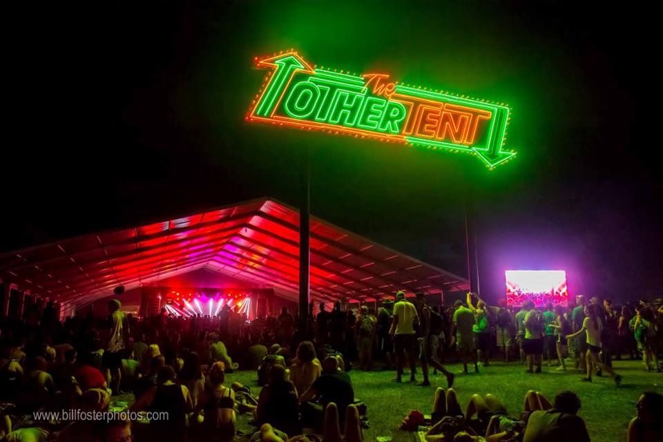 The Other Tent at Bonnaroo 2015, photograph by Bill Foster