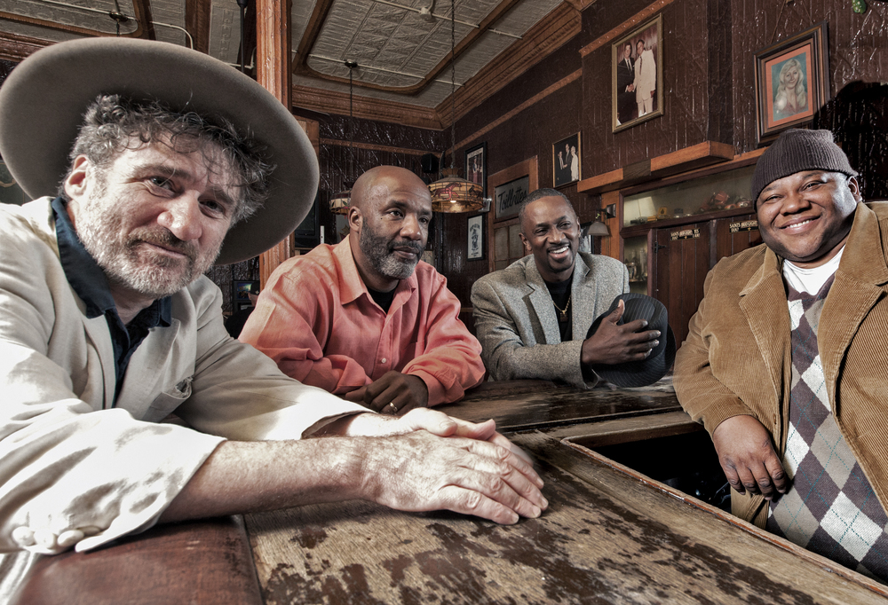 Jon Cleary and company, photograph courtesy of Jon Cleary management