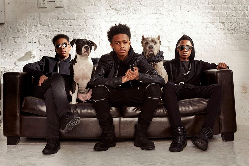 Unlocking the Truth: (from left to right)Alec Atkins,  Malcolm Brickhouse and   Jarad Dawkins,photograph courtesy of Unlocking the Truth management (2016)