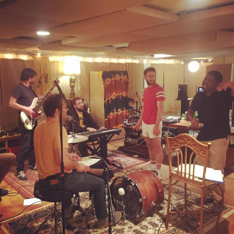 Vulfpeck, with Antwaun Stanley, photo courtesy of Vulfpeck management