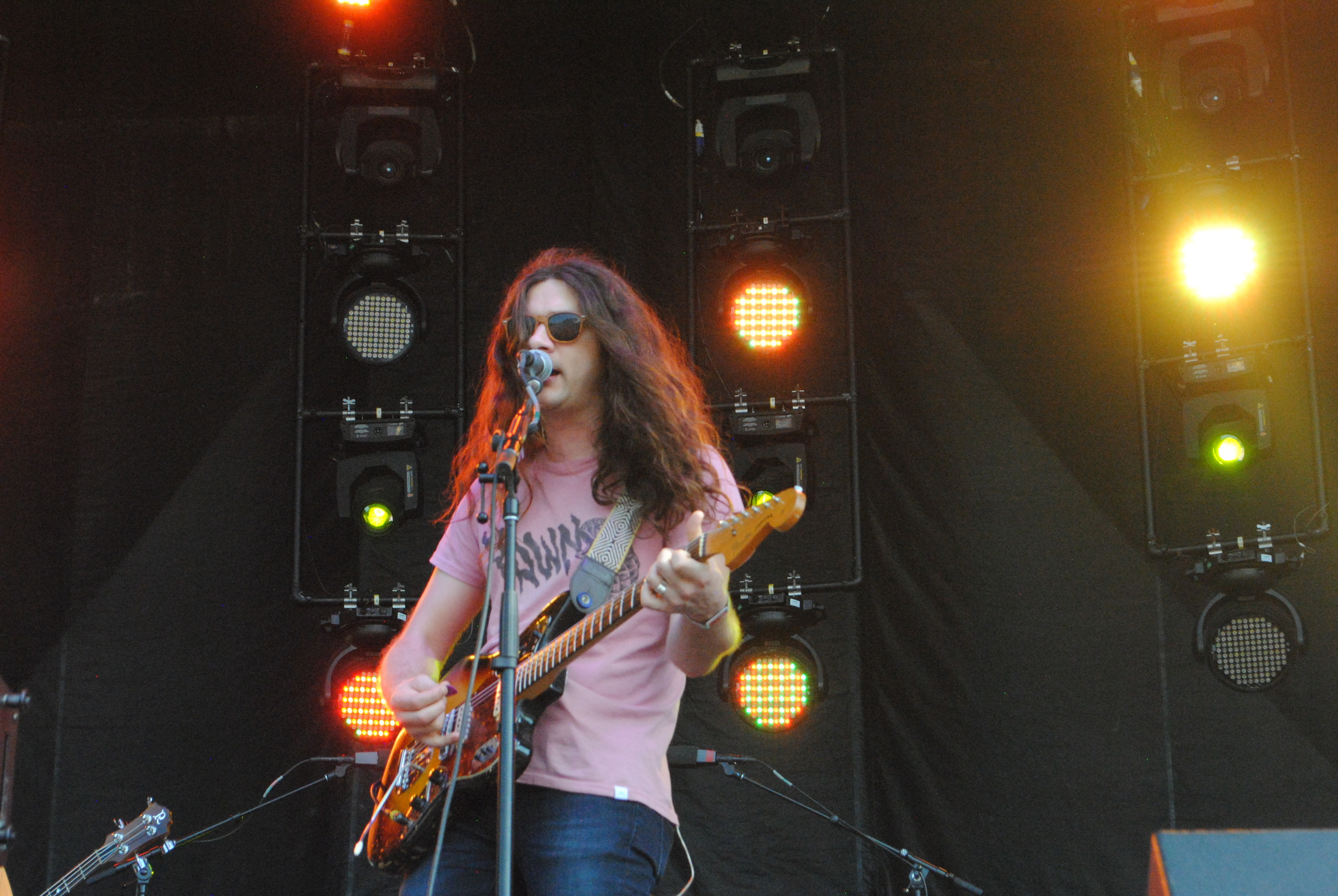Kurt Vile, photograph by Liam McCarty (Bonnaroo 2016)