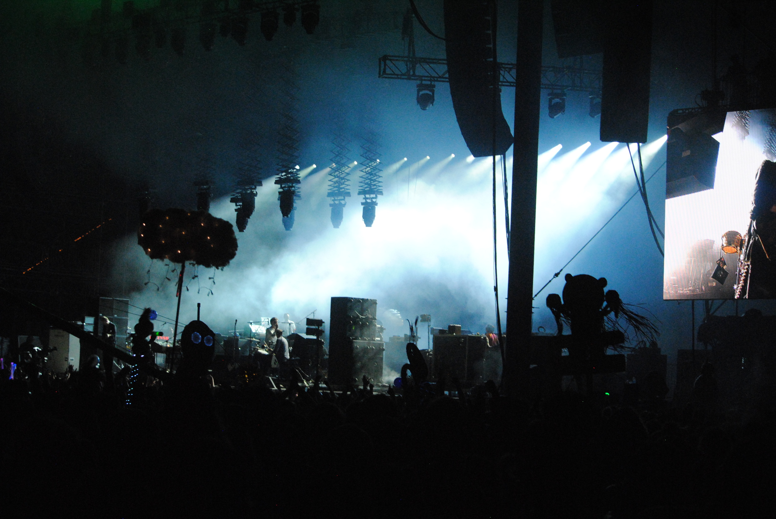 LCD Soundsystem,  photograph by Liam McCarty (Bonnaroo 2016)