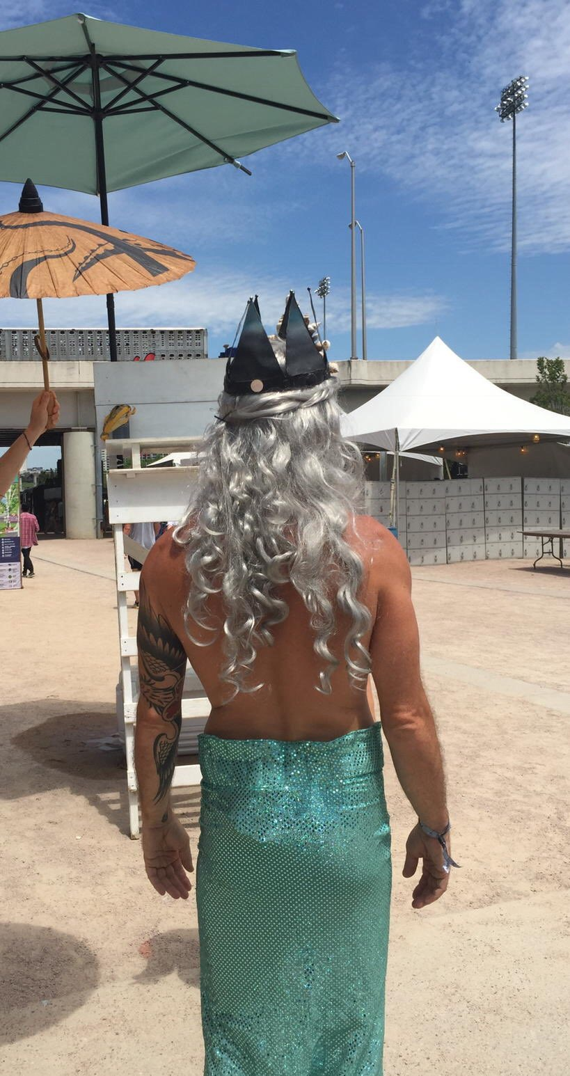 Merman because Forecastle, of course (2016), photo by Wil Wright