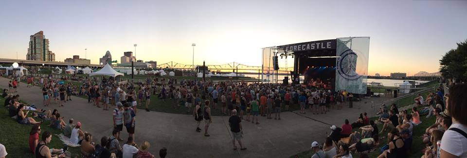 Port Stage panorama at Forecastle 2016, photo by Bill Foster