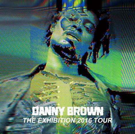 Exhibition Tour (2016), image courtesy of Danny Brown management.