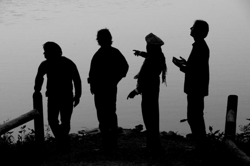 Béla Fleck & the Flecktones at Radnor Lake in Nashville, TN, photo courtesy of Béla Fleck & the Flecktones management
