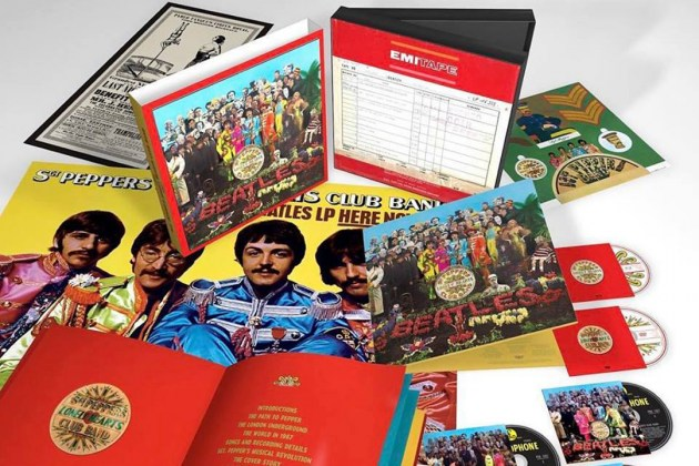 The deluxe reissue of the seminal document, image courtesy of Parlophone