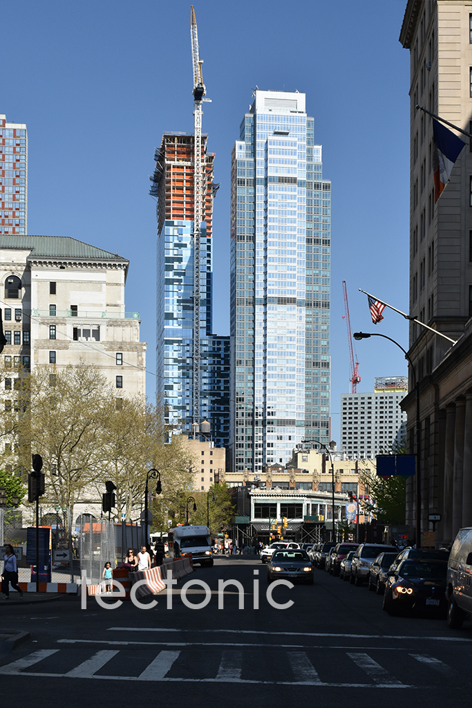 View from Joralemon Street in May