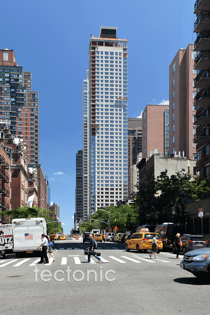 Viewed from 9th Avenue & West 57th Street
