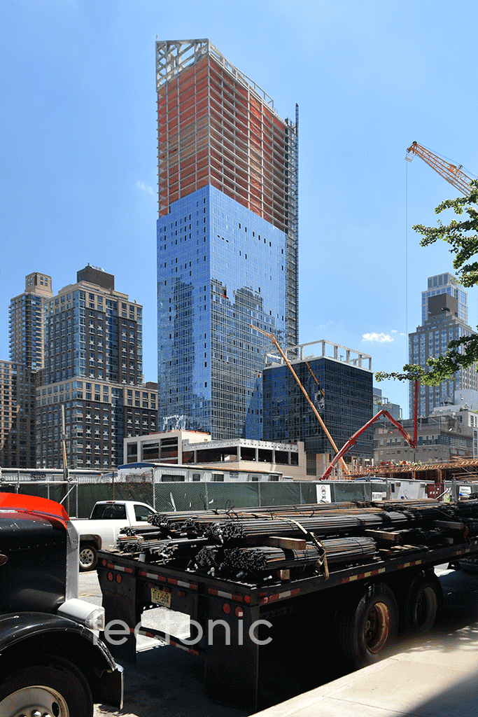 Viewed from West 59th Street