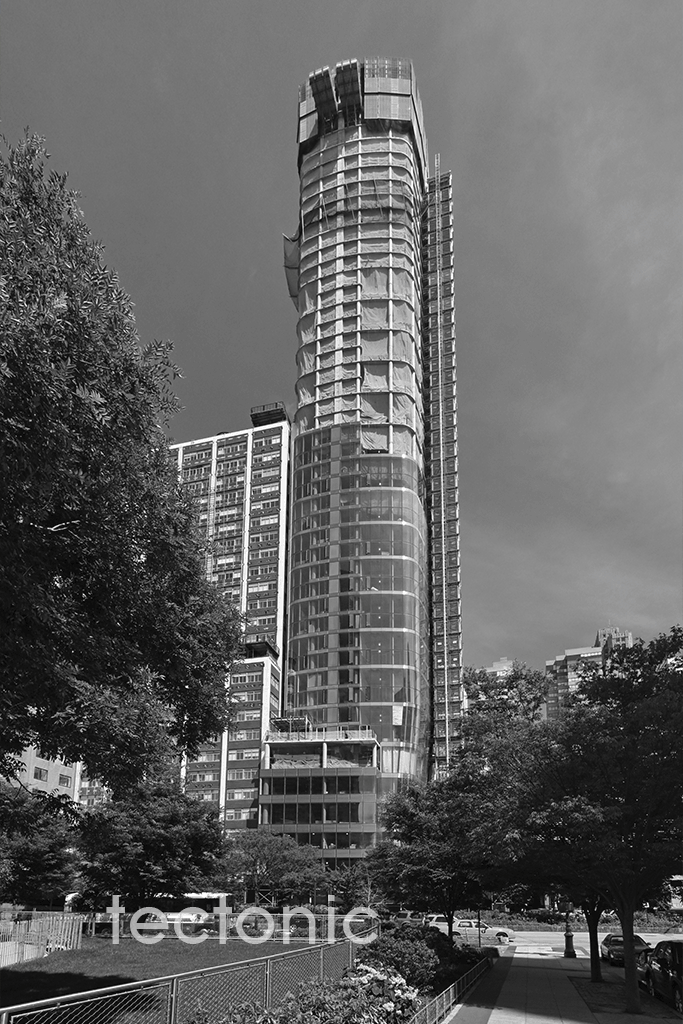 Western face from Battery Park City