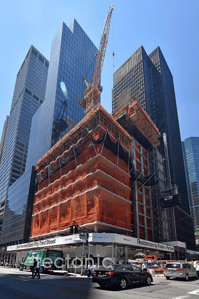 Looking up from East 53rd Street & Lexington Avenue