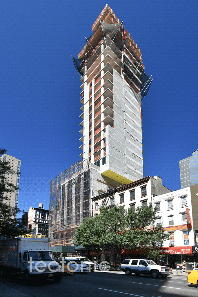 Eastern side from 6th Avenue