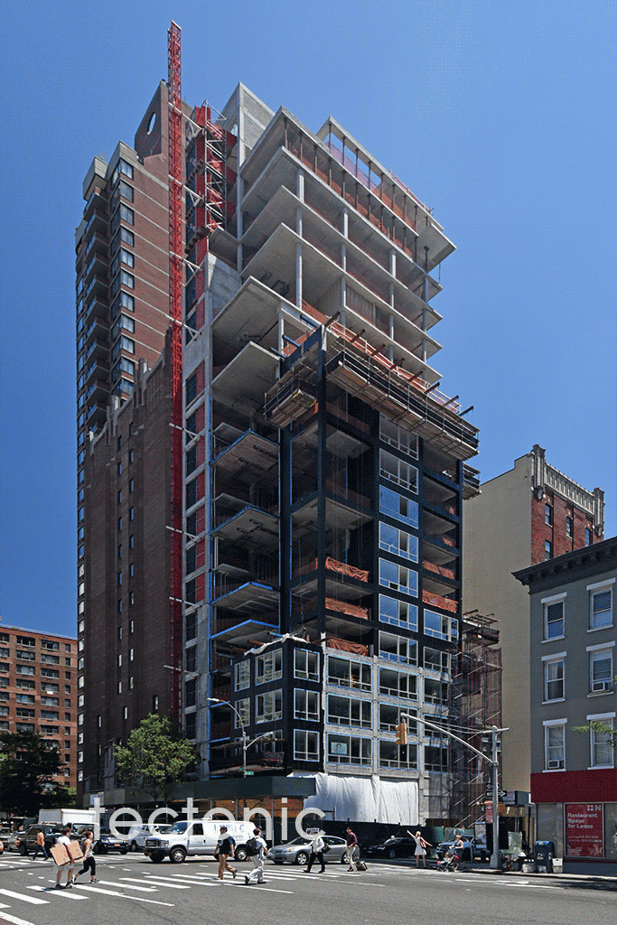 Viewed from 2nd Avenue