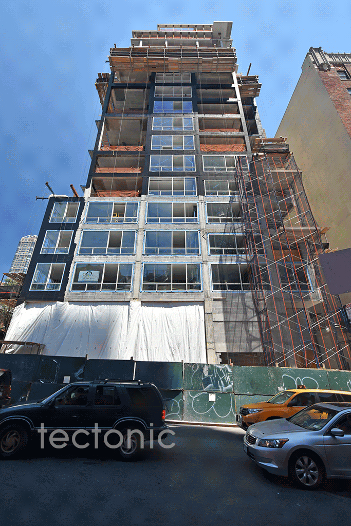Looking up from East 61st