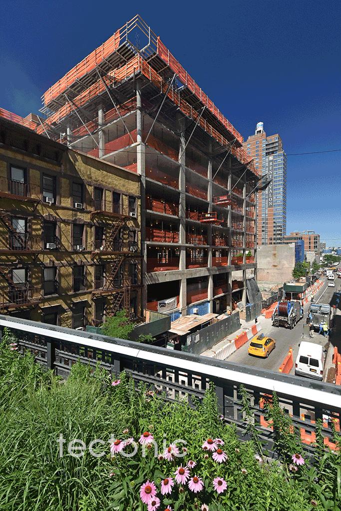West 29th Street side