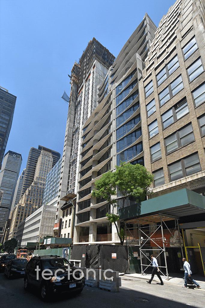 Looking westward along East 44th Street
