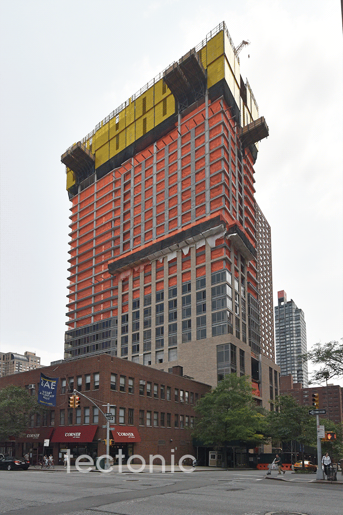 Viewed from 3rd Avenue