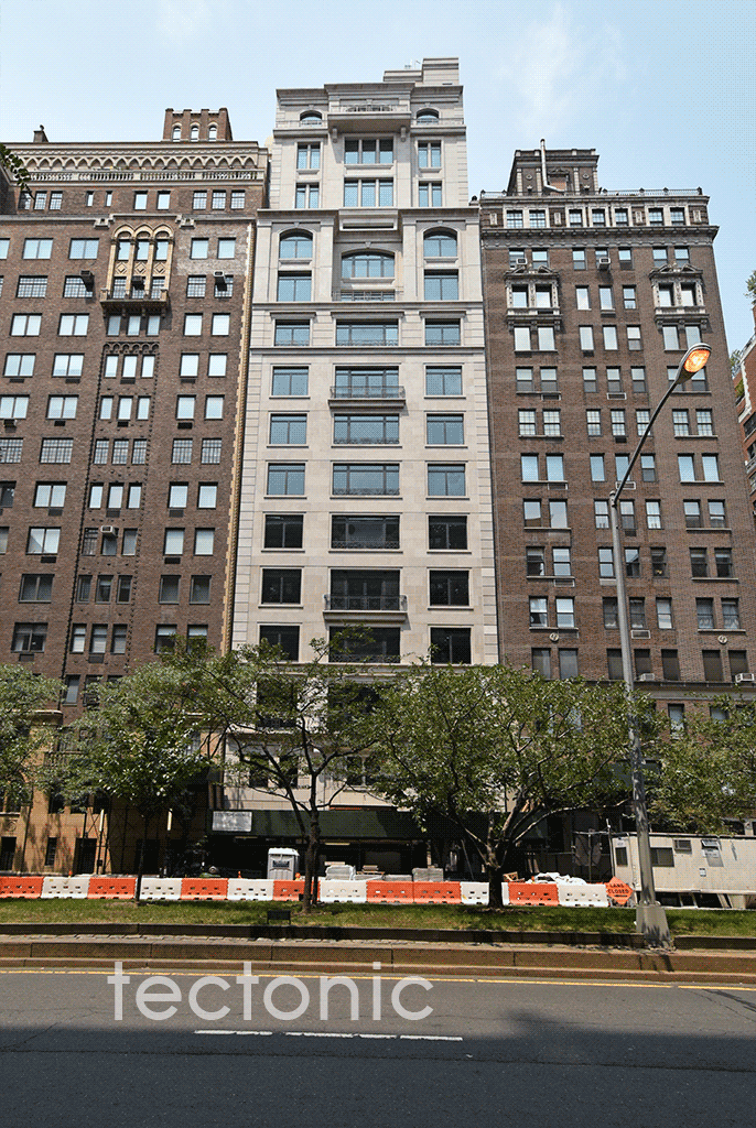 Viewed from Park Avenue