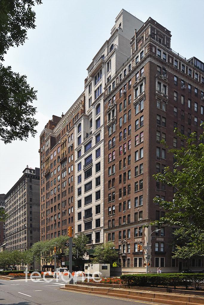 Westward view along Park Avenue