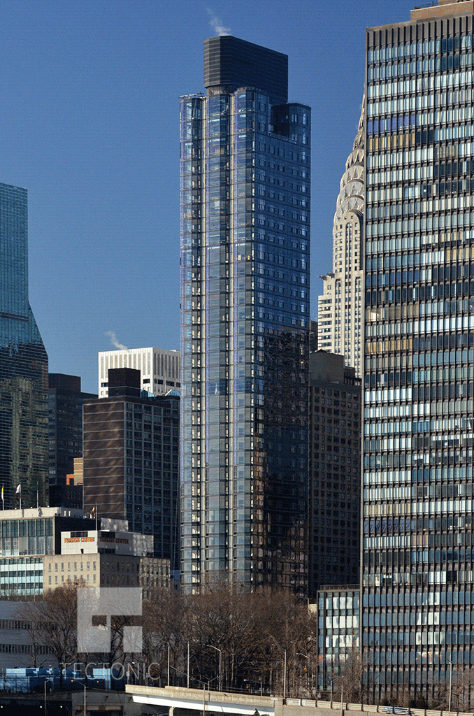 Viewed from Roosevelt Island in December 2015