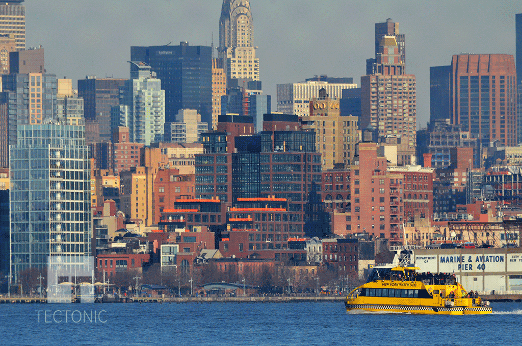 Viewed from Jersey City in December 2014