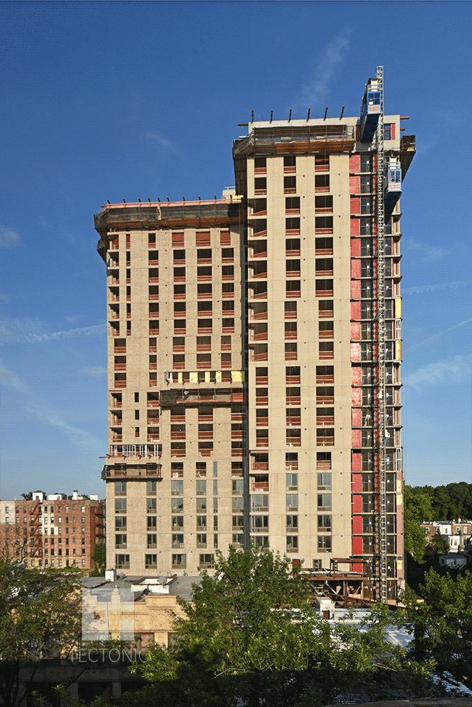 Eastern face over Flatbush Avenue