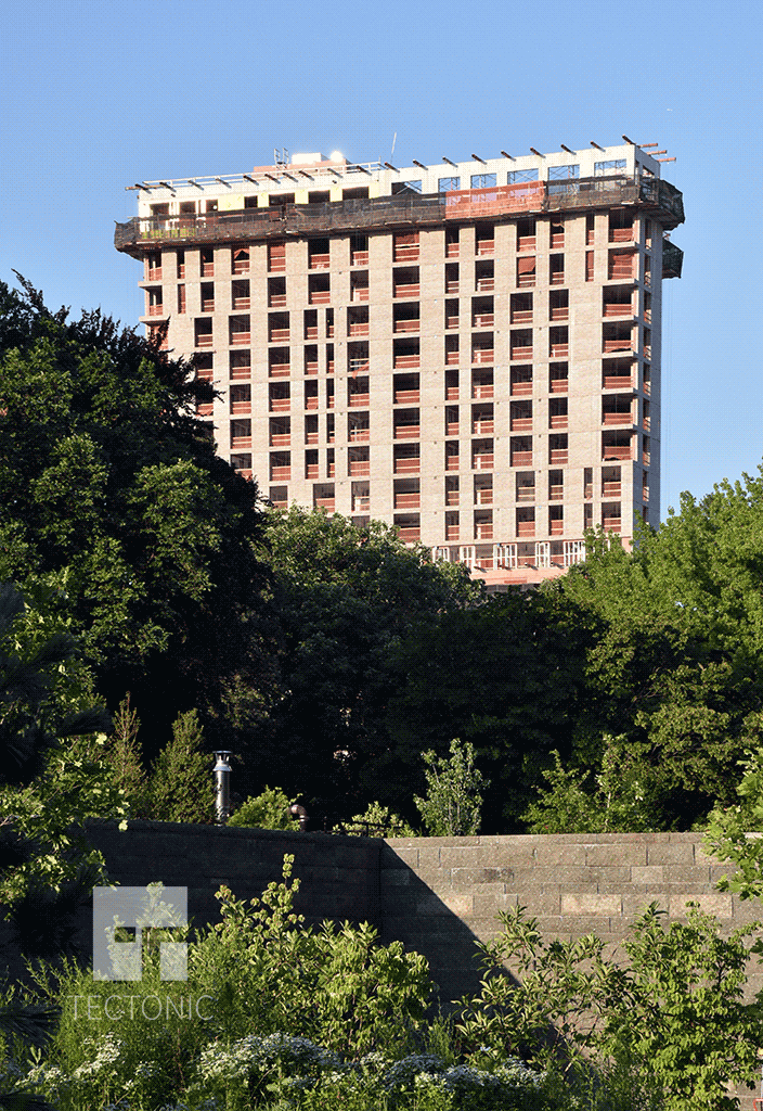 Viewed from Prospect Park