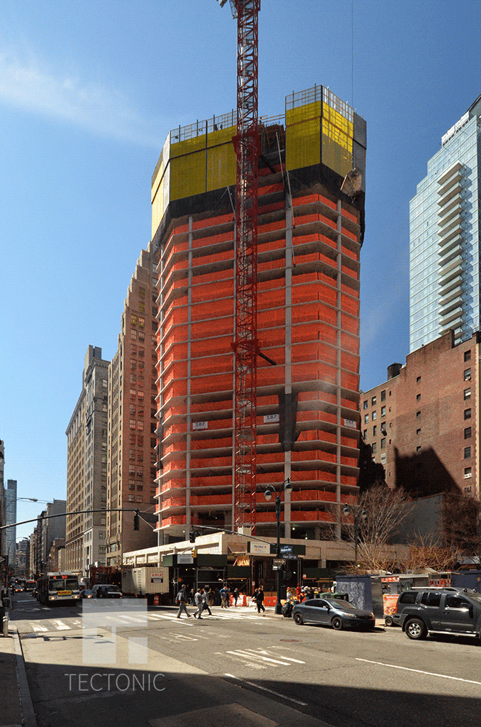 Under construction in April 2014