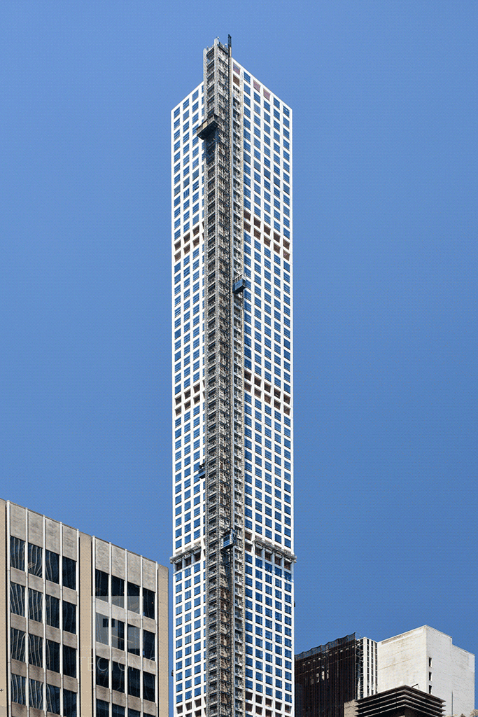 Viewed from Lexington Avenue