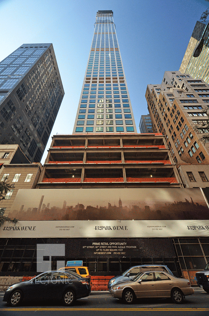 Looking up from Lexington Avenue