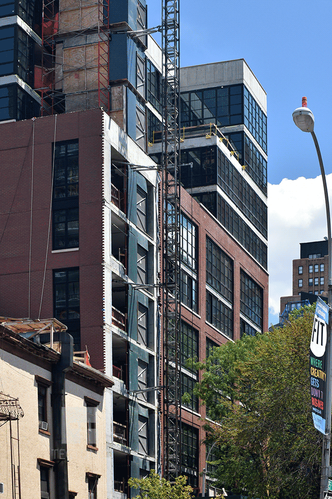 Viewed from 8th Avenue