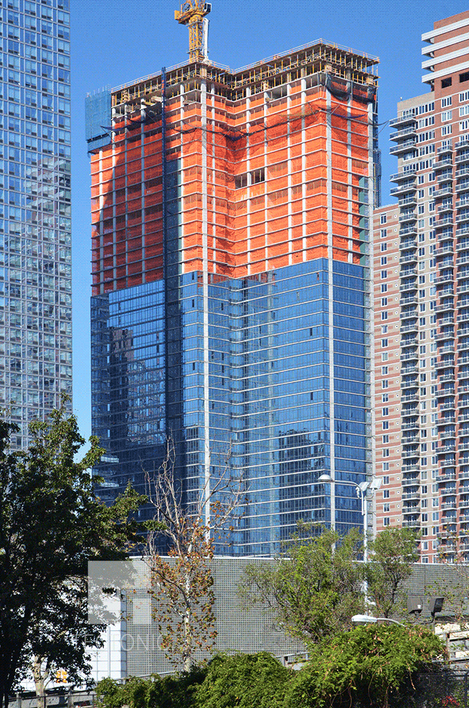 Viewed from 10th Avenue in October 2014