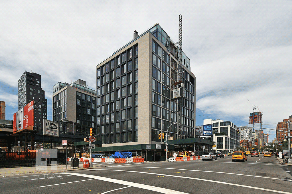 Viewed from 10th Avenue