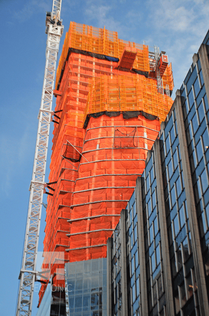 Northwestern side from West 28th Street in November 2013