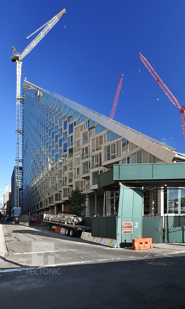 View along West 58th Street