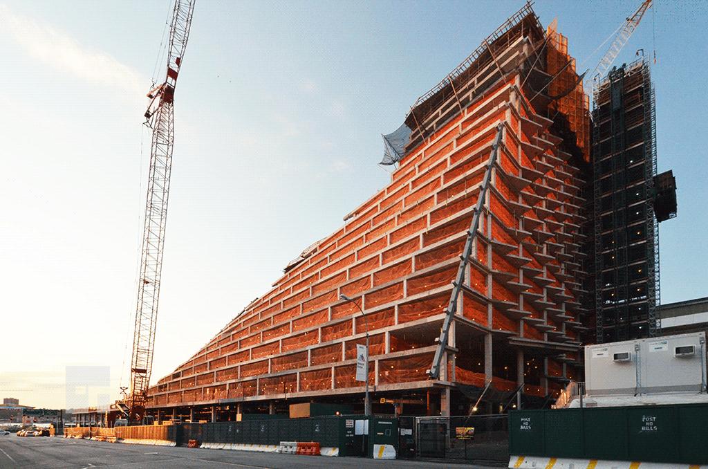 Under construction in August 2014