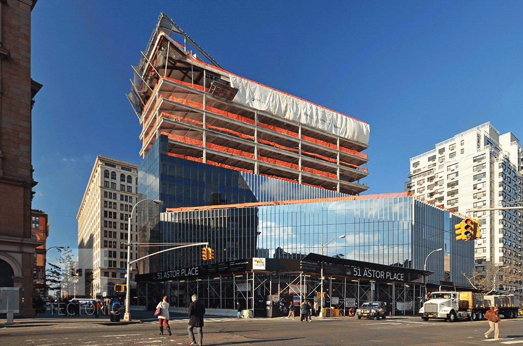 Viewed from Astor Place & 3rd Avenue