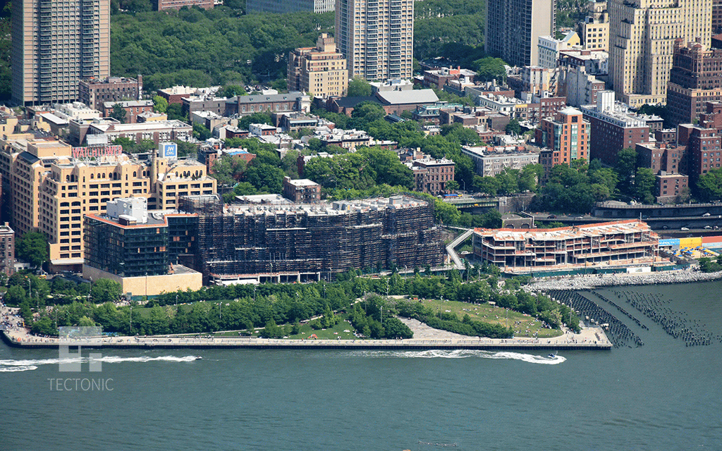 Viewed from One World Trade Center in May 2015